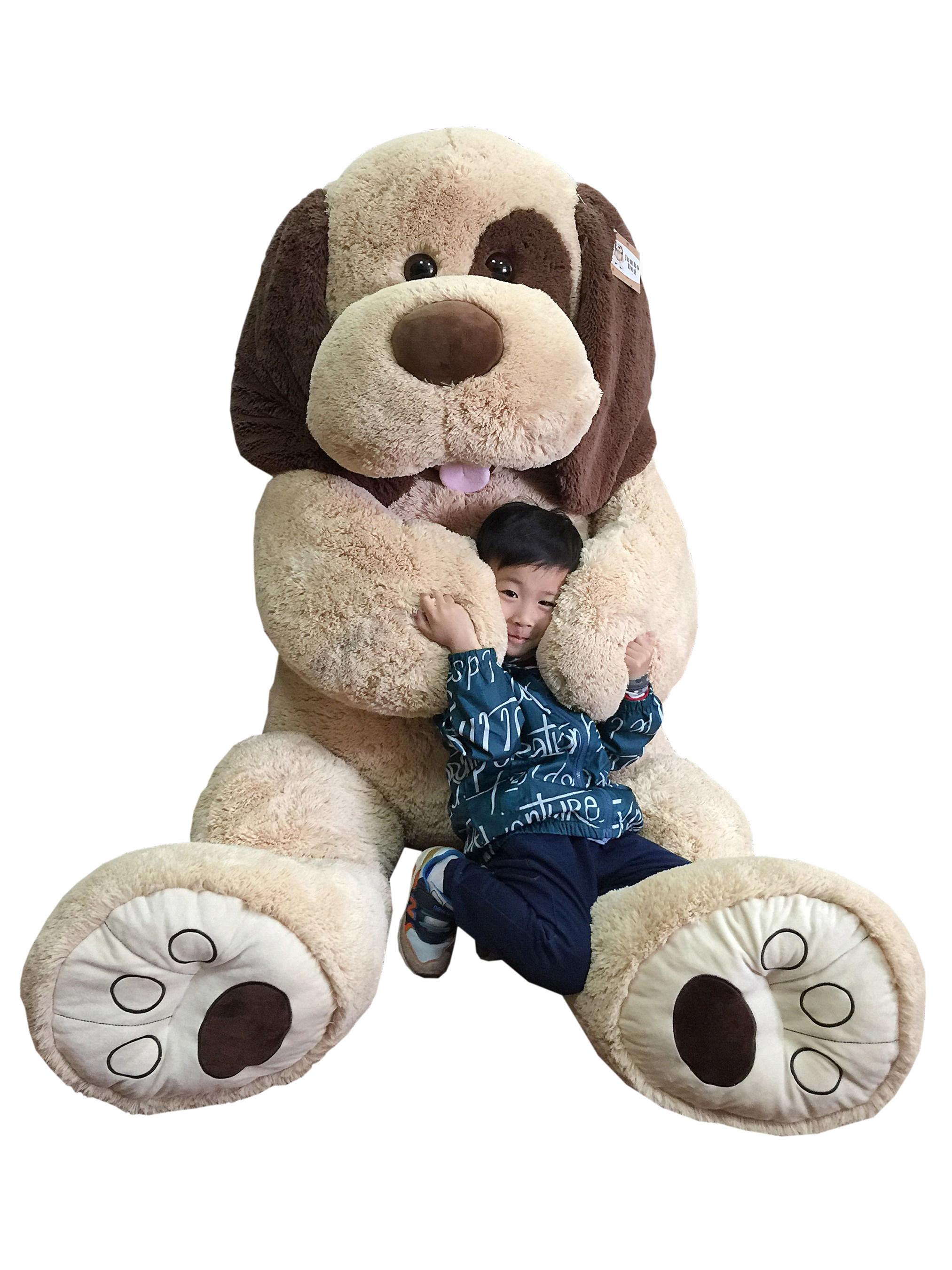 Jumbo Plush Dog, available at BJ's Clubs and BJs.com