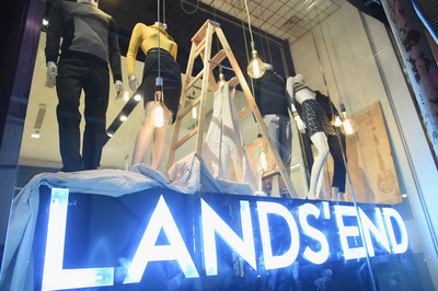 The Lands' End experience has arrived in SoHo at 580 Broadway in New York City.