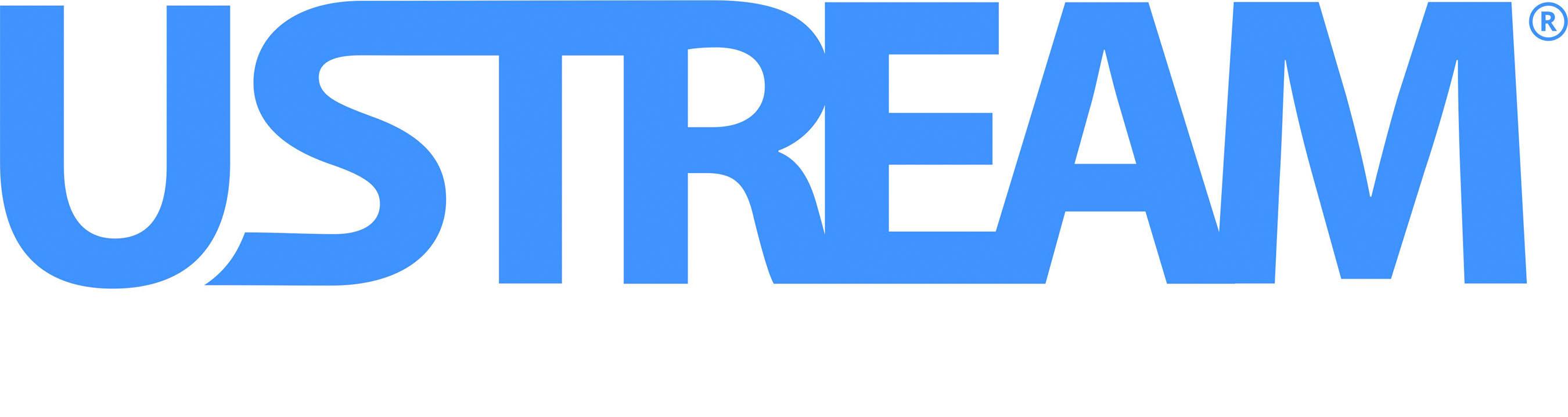 Ustream logo.
