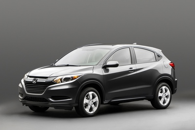 New Honda HR-V compact SUV to be launched this Winter (PRNewsFoto/American Honda Motor Co., Inc.)