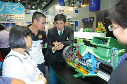 International exhibitors at ASEAN M&E 2016 showcase the latest technology and equipment for electric power and ...