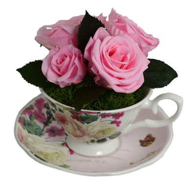 Luxe Bloom(r) Home Tea Cup Collection launched exclusively for QVC