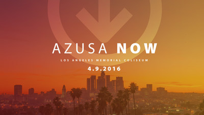 TBN's JUCE TV youth network will broadcast the groundbreaking Azusa Now worship and prayer gathering live from the Los Angeles Memorial Coliseum Saturday, April 9th.