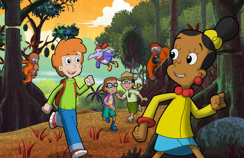 Celebrate Earth Month with THE CYBERCHASE MOVIE on PBS KIDS in April.  (PRNewsFoto/WNET)