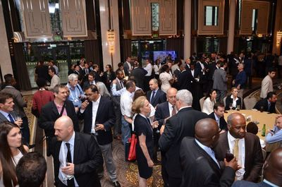 Delegates network at the annual Africa Energy Forum in Istanbul, another global investment meeting organised by EnergyNet