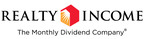 Realty Income Closes 10.85 Million Share Common Stock Offering
