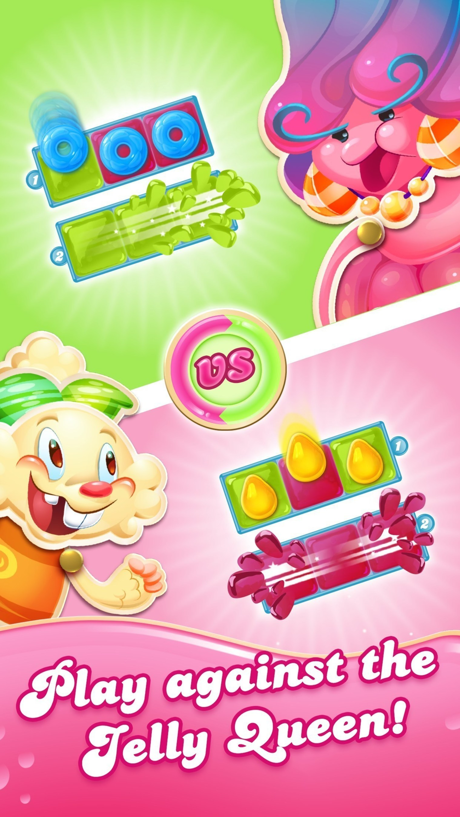 King Digital Entertainment launches Candy Crush Jelly Saga on mobile