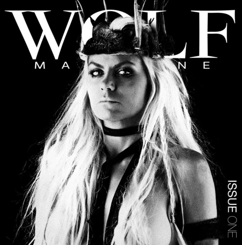 Issue One of Wolf Magazine featuring Debranne Treu.  (PRNewsFoto/Wolf Magazine)