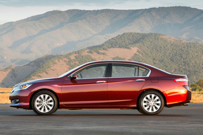 The 2013 Honda Accord Sedan.  (PRNewsFoto/American Honda Motor Co., Inc.)