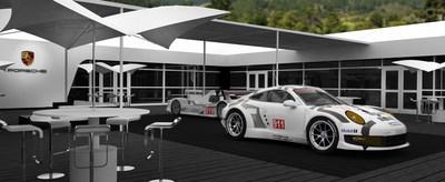 Porsche at Monterey Car Week (PRNewsFoto/Porsche Cars North America, Inc.)