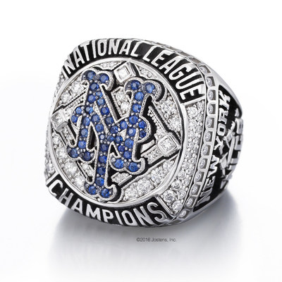 Jostens and new york mets deliver 2015 national league championship ring new york mets 2015 national league championship ring sciox Images