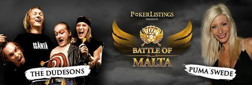 Puma Swede and The Dudesons Heading to PokerListings Battle of Malta in September
