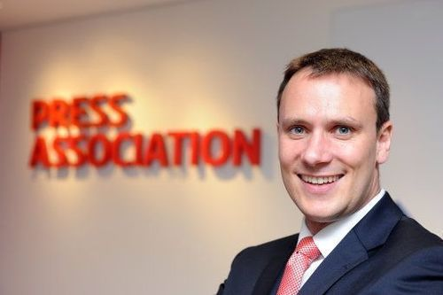 Staff photo of Press Association Finance Director Ed Ethelston (PRNewsFoto/PA Group)