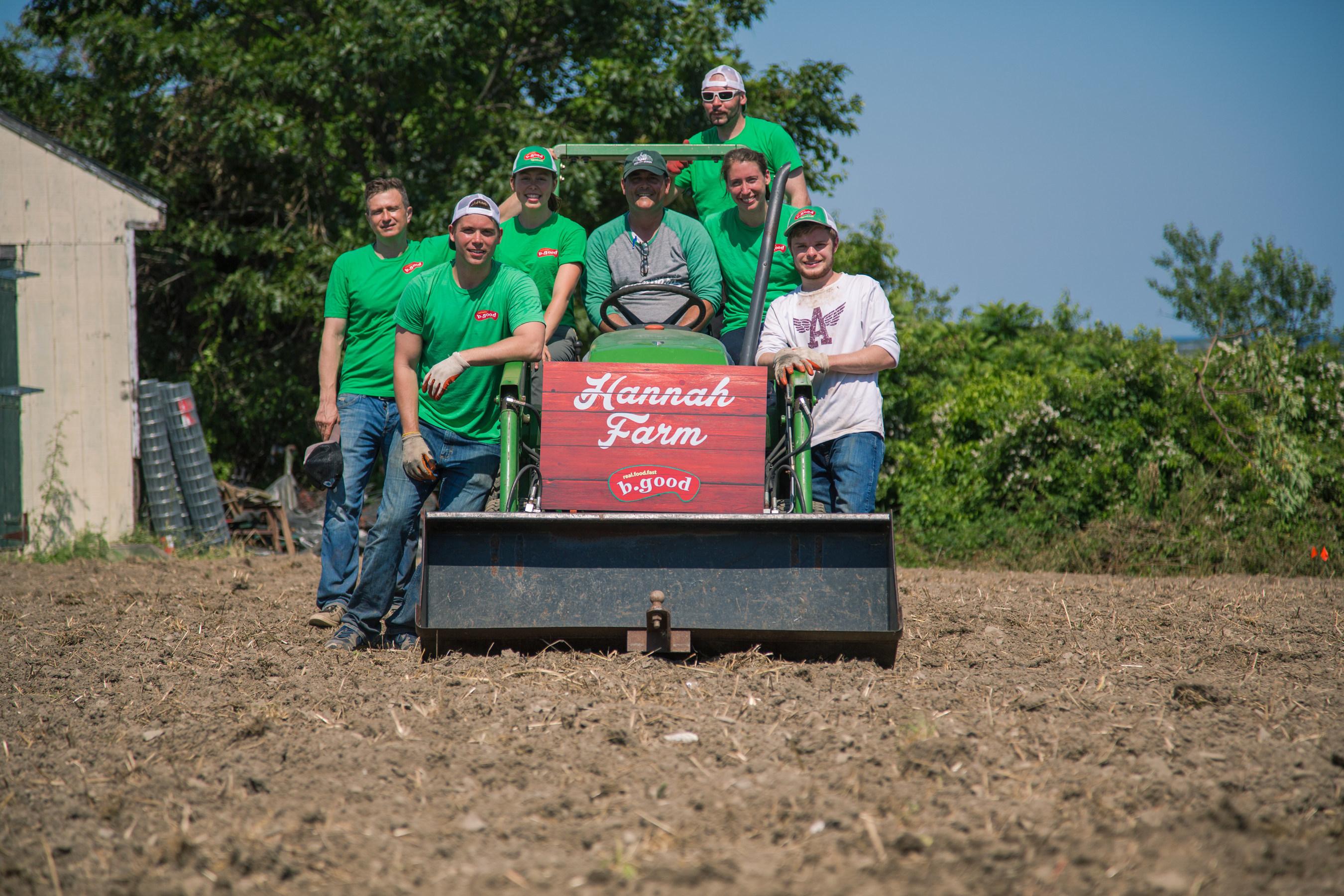 b.good team at Hannah Farm
