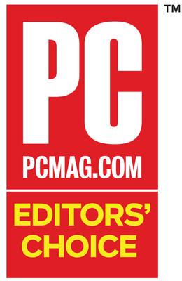 PC Mag Editors Choice (PRNewsFoto/CertainSafe)