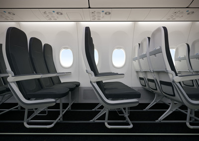 LIFT by EnCore and Boeing's collaborative 737 seat. A seat that is optimized spatially, structurally and aesthetically for the Boeing Sky Interior, which delivers an improved travel experience for passengers.