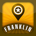 The new Franklin Tour App Unveiled April 20th.  (PRNewsFoto/Williamson County Convention & Visitors Bureau)