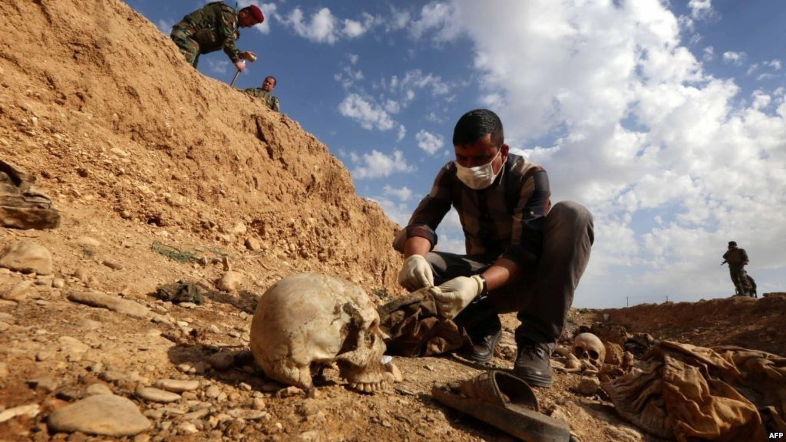 Mass graves in the North Sinjar Mountain (Kojo, Sipa Sheikh Khider, Gir Azer) villages