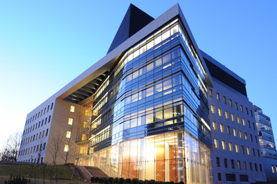 The Michael F. Price Center for Genetic and Translational Medicine/Harold and Muriel Block Research Pavilion at Albert Einstein College of Medicine. Dedicated in 2008, the signature facility symbolizes the changes at Einstein.  (PRNewsFoto/Albert Einstein College of Medicine)