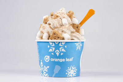 Orange Leaf Frozen Yogurt Introduces Pumpkin Spice Latte Flavor for November