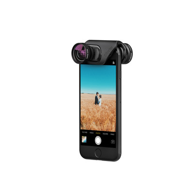 olloclip's newly designed mobile photography lens sets for iPhone 7 and 7 Plus: the Core, Active and Macro Pro lens sets.
