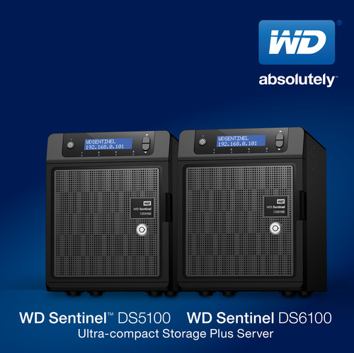 WD(R) Introduces New Ultra-compact Network Storage Plus Servers(PRNewsFoto/WD)