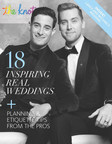 The Knot LGBTQ Edition 2015 features planning and etiquette tips from wedding professionals, along with inspiration from real weddings, including *NSYNC alum Lance Bass and his husband Michael Turchin's Los Angeles wedding.
