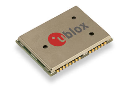 u-blox LEA-M8F precision timing module for cellular networks leverages GNSS satellites with other clock sources to ensure base stations stay in-sync. The LEA-M8F is able to acquire and track all 50 GPS, GLONASS and BeiDou satellites. (PRNewsFoto/u-blox) (PRNewsFoto/U-BLOX)