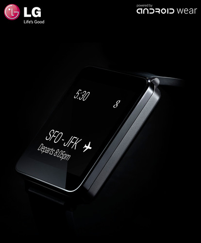 LG G Watch Powered By Android Wear Being Developed In Close Collaboration With Google. (PRNewsFoto/LG Electronics) (PRNewsFoto/LG ELECTRONICS)
