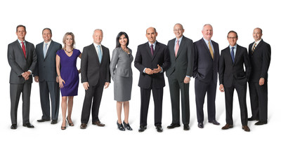 Left to right: Quintin Cassady, Vice President & General Counsel, Legal; Brant Schofield, Vice President, Commercial Strategy; Virginie Naigeon, Director, Corporate Communications; Miles Harrison, General Manager & Vice President, Self-Medication Business Unit; Safia Rizvi, General Manager & Vice President, Prescription Business Unit; Todd Zavodnick, President, Galderma US; Phil Brown, Senior Vice President, Medical and Regulatory Affairs; Han Jansen, Vice President, Finance & Information Technologies;  Jake DeBoever, Senior Director & Chief Compliance Officer; Mike Voigt, Vice President, Human Resources & Learning and Development