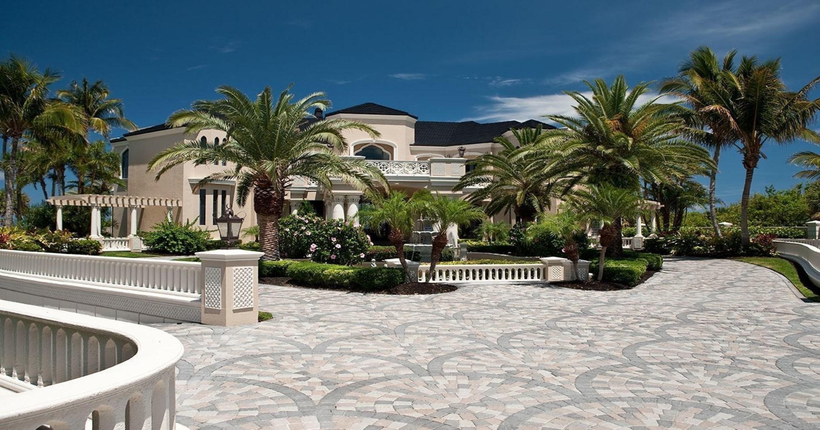 Auction Announced for Palazzo Di Mare, 'The Great Gatsby Estate', in Vero Beach, Florida