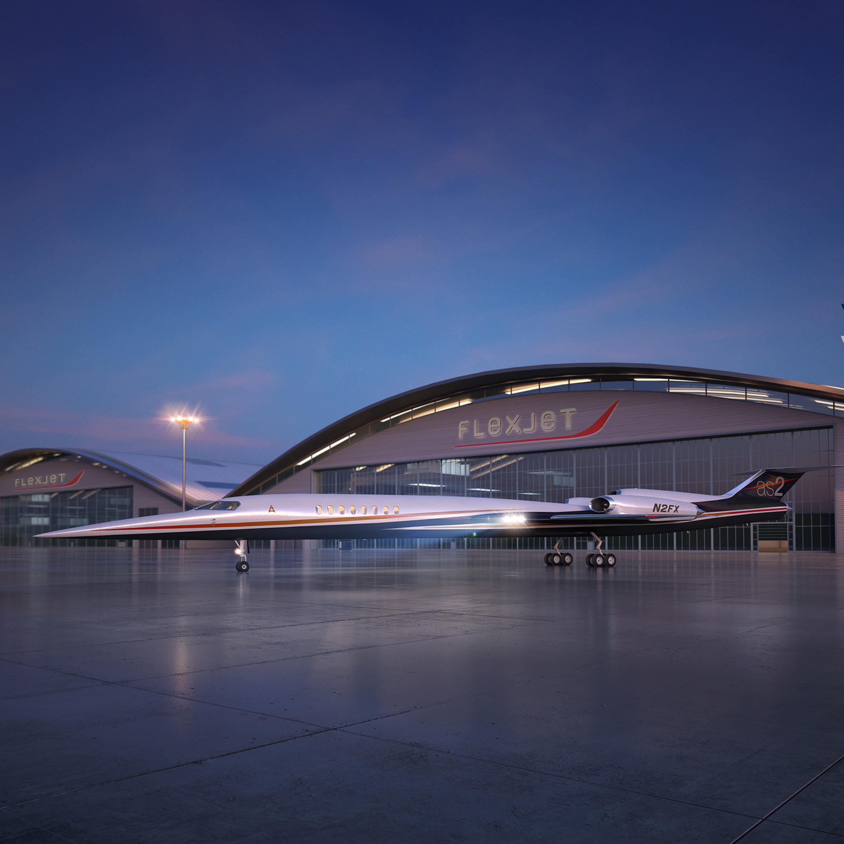 Flexjet se stane prvním odběratelem nadzvukových business tryskových letadel společnosti Aerion