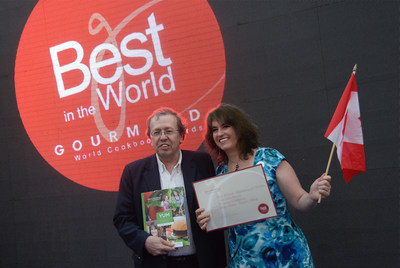 Dr. Theresa Nicassio receives 2016 Best in the World Gourmand Award