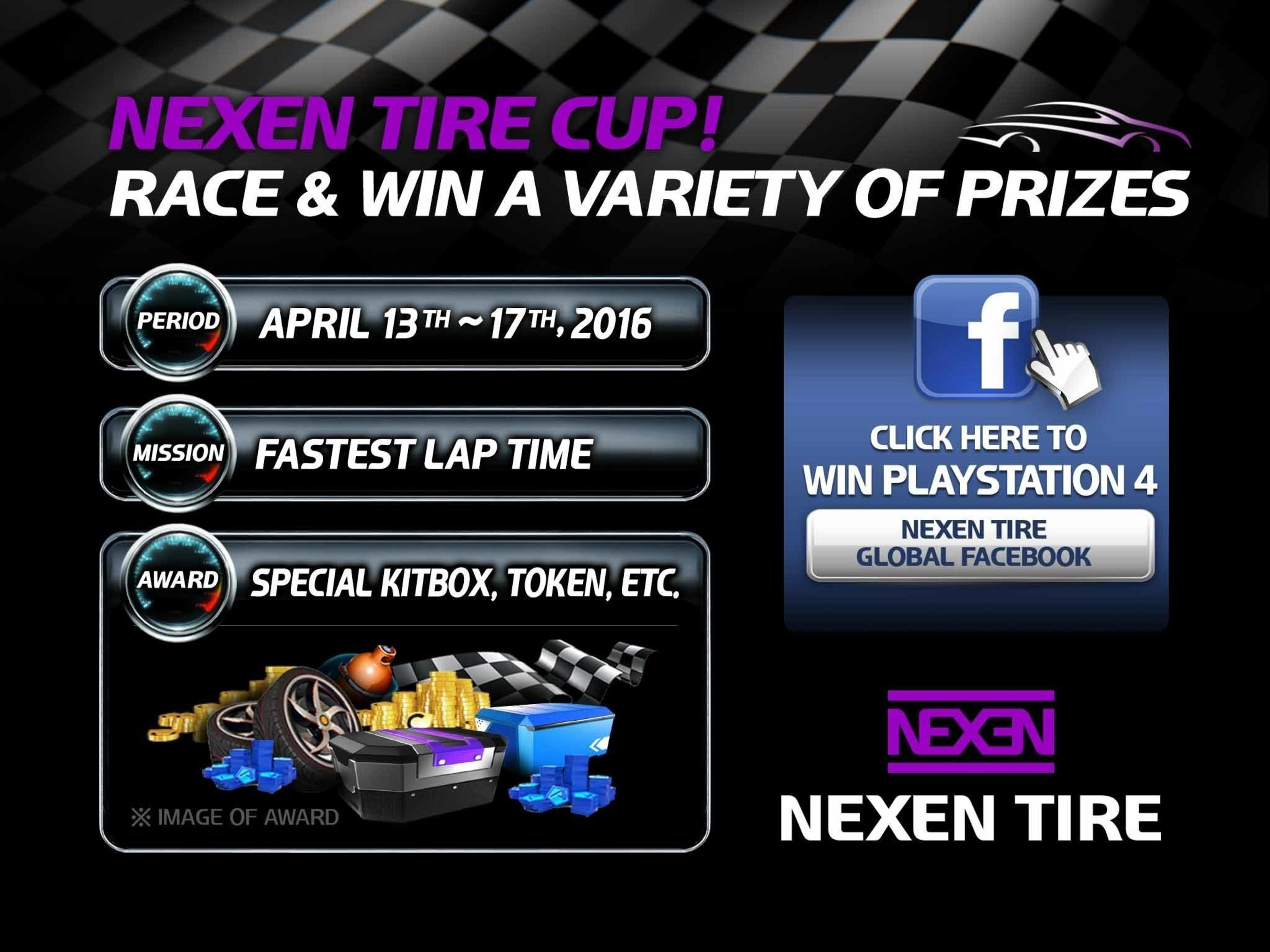 Nexen Tire Runs Advertisements and Promotion Game Events through Asphalt 8