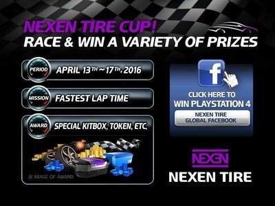 Nexen Tire Runs Advertisements and Promotion Game Events through Asphalt 8
