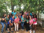 On Saturday, April 16, 2016, Bankers Healthcare Group employees spent the day volunteering at Lotus House Women's Shelter in Miami, Florida.