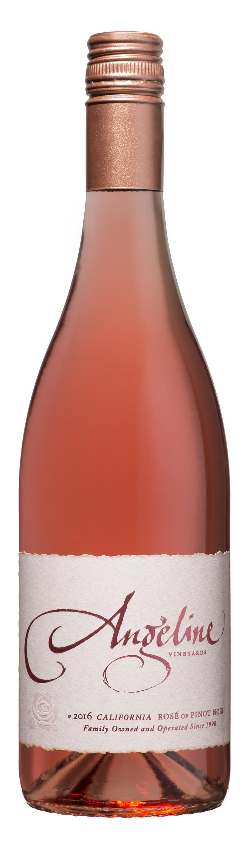 Angeline 2016 California Rose of Pinot Noir