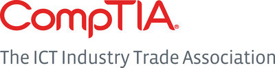 CompTIA, the ICT Industry Trade Association, is the voice of the world's information, communications and technology industry. (PRNewsFoto/CompTIA)