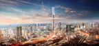 Iconic World One midst Mumbai skyline