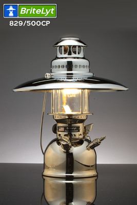 The All New BriteLyt 500CP High Powered Multi Fuel Lantern With Optional  Top Reflector ...