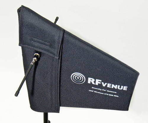 RFvenue Diversity Fin Antenna for Wireless Microphones. (PRNewsFoto/RFvenue) (PRNewsFoto/RFVENUE)