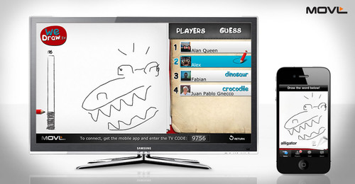 MOVL Launches WeDraw App for Samsung Smart TVs
