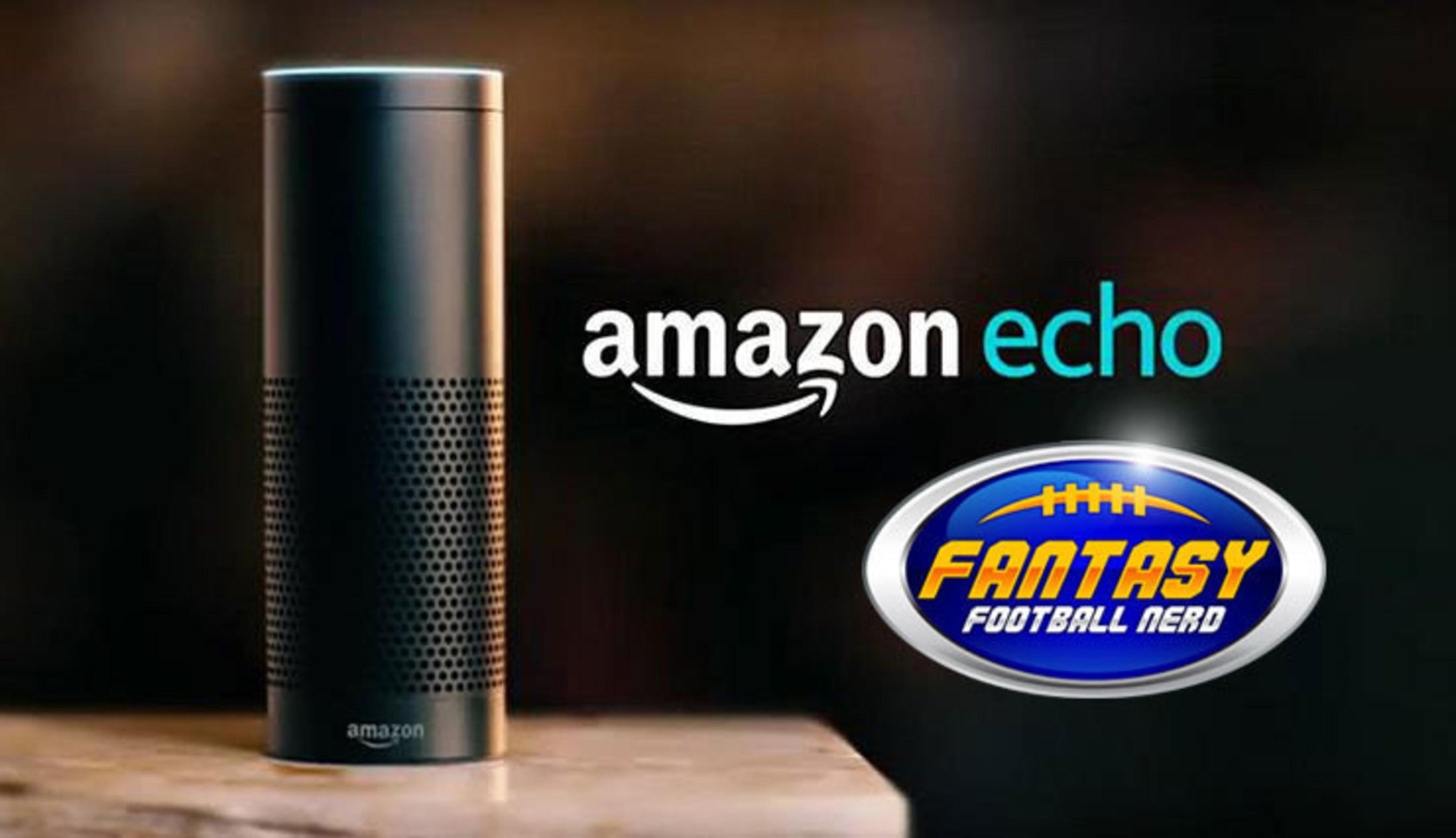Fantasy Football Nerd Announces Integration With Amazon Echo