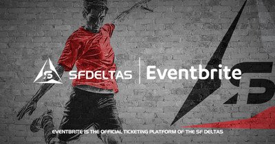 Eventbrite is the official ticketing partner of the SF Deltas