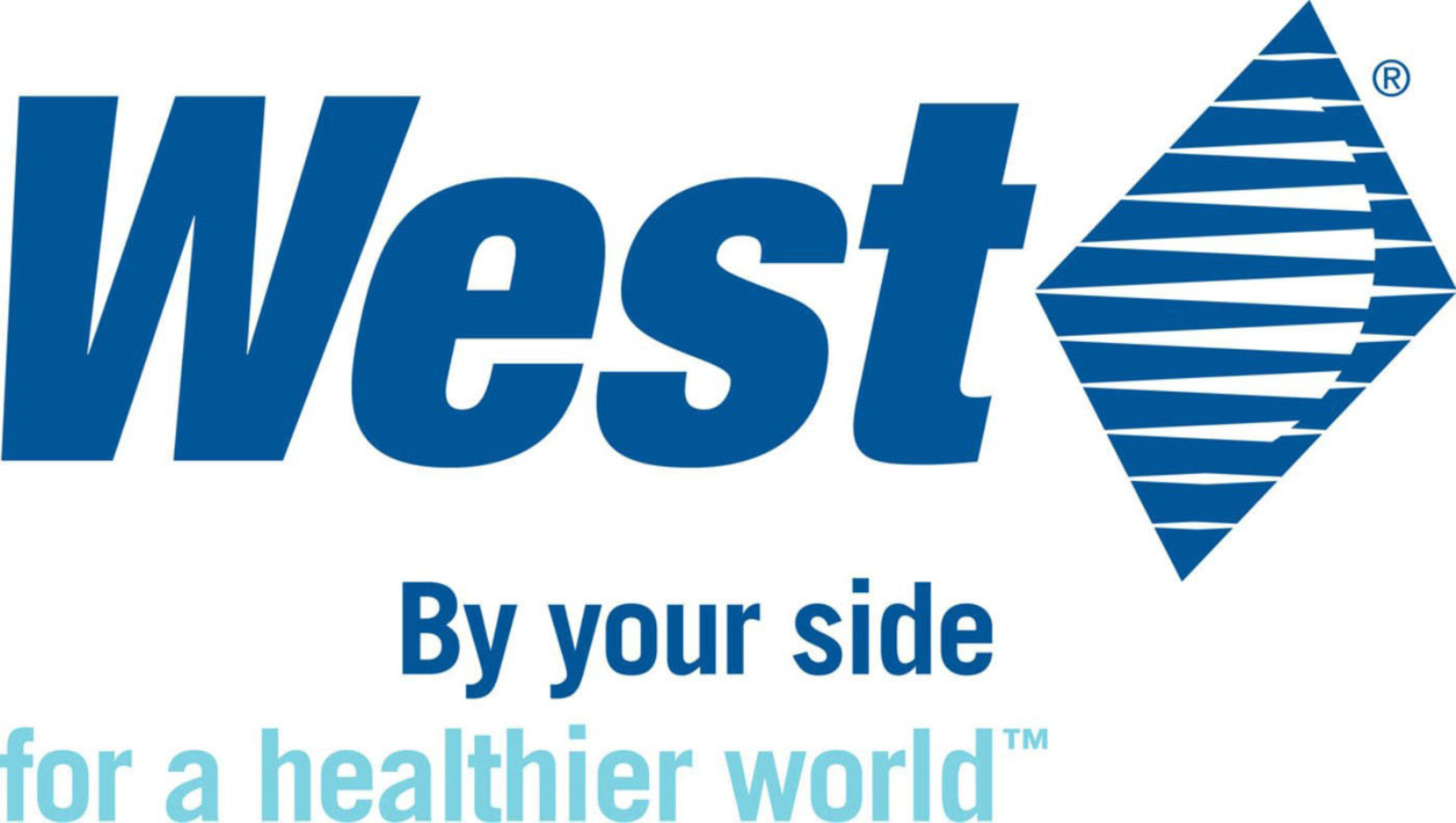 West Pharmaceutical Services logo. (PRNewsFoto/West)