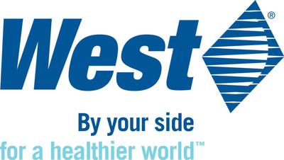 West Pharmaceutical Services logo.