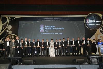 2015 Seatrade Maritime Awards Asia Winners