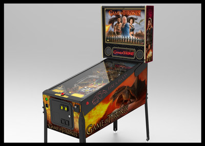 Stern Pinball to Release Game of Thrones(R) Pinball Machines