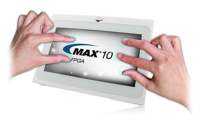 The MAX 10 NEEK simplifies the development of single-chip embedded design in a non-volatile FPGA.