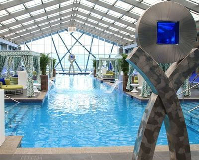Mount Airy Casino Resort Gets Wet This Summer With The Official Debut Of Its 5 Million Dollar Luxury Indoor/ Outdoor Swimming Pool And Entertainment Complex